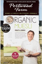 Pertwood Farm Organic Muesli Fruit and Seeds 650g