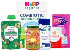 Baby Food, Formula & Healthcare Products