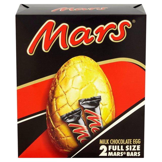 Mars Easter Eggs