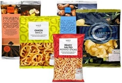 Marks and Spencer Potato Crisps