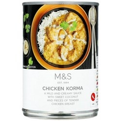 Marks and Spencer International Cuisine