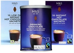 Marks and Spencer Hot Chocolate Drinks