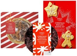 Christmas at Marks and Spencer