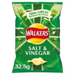 Walkers Salt and Vinegar Crisps