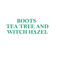 Boots Tea Tree and Witch Hazel