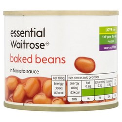 Waitrose Tinned Food