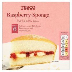 Tesco Cakes and Cake Bars