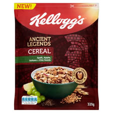 Kelloggs Ancient Legends Cereal