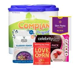 Mixed Brand Diet Foods