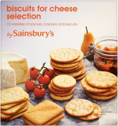 Sainsbury Savoury Biscuits