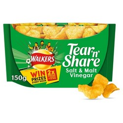 Walkers Tear and Share