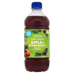 Tesco Squash and Cordials