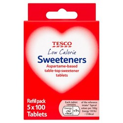 Tesco Sweeteners
