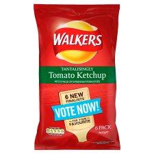 Walkers Tomato Kethcup Crisps