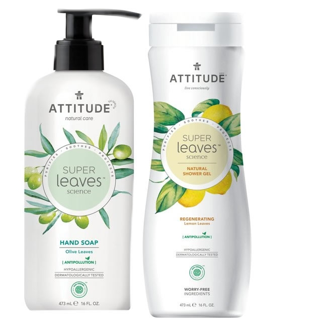 Attitude Shower and Soap