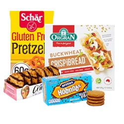 Special Dietary Biscuits and Crackers