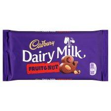 Cadbury Fruit and Nut Chocolate