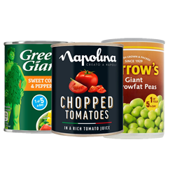 Brand Name Canned Vegetables