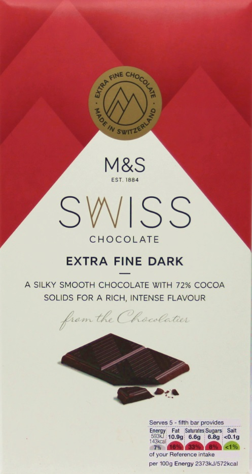 Marks and Spencer Chocolate