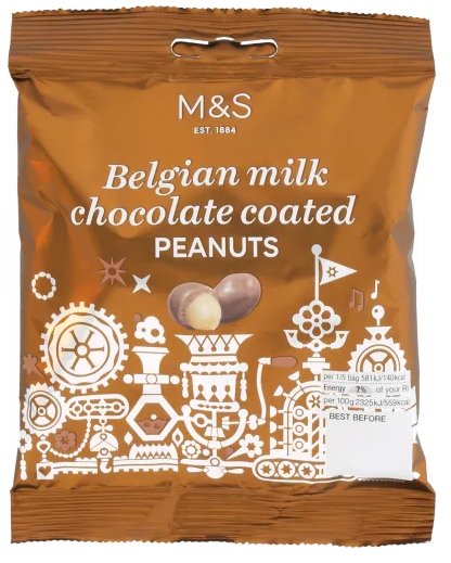 Marks and Spencer Chocolate Pouches