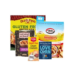 Gluten Dairy and Wheat Free Groceries