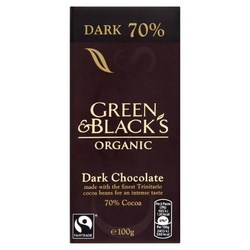 Green and Black Chocolate Bars