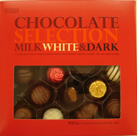 Marks and Spencer Boxed Chocolate