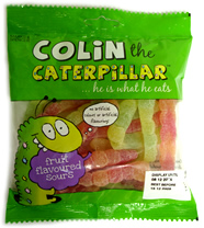 Marks and Spencer Colin the Caterpillar Sweets