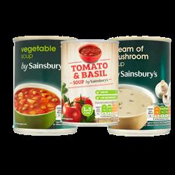 Sainsbury Soup