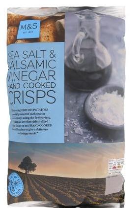 Marks and Spencer Potato Crisps
