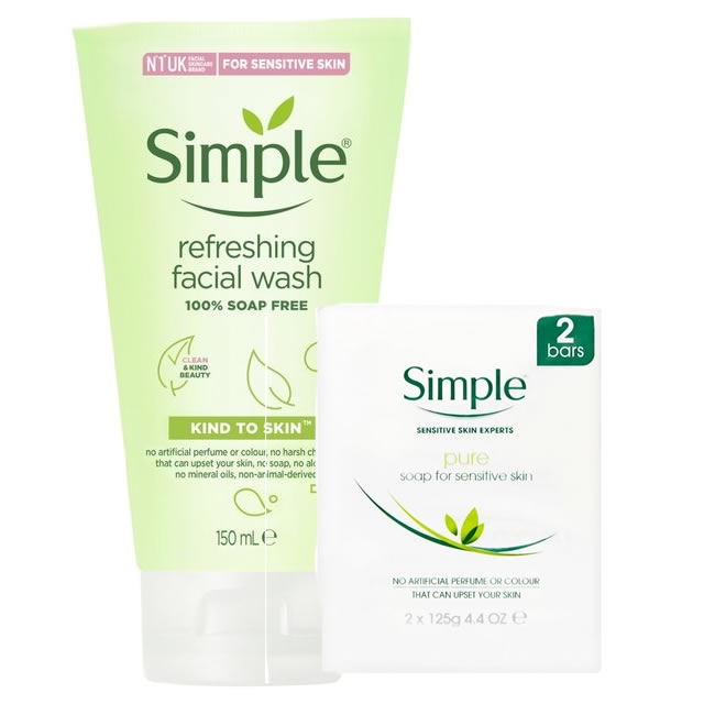 Simple Bathing and Shower Products