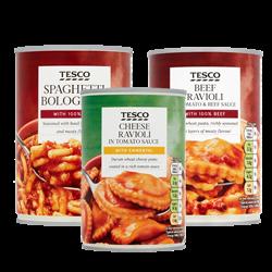 Supermarket Brands Tinned Pasta