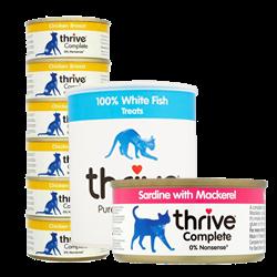 Thrive Cat Treats and Food
