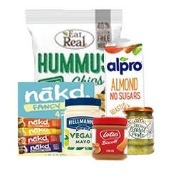 Vegan Foods and Toiletries