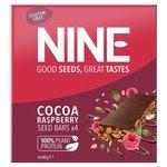 9Nine Bar Cocoa and Raspberry Bars 4 x 40g
