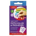 Acana Moth Killer and Freshener Lavender 20 Sachets