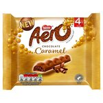 Aero Chocolate Caramel Bars 4 x 27g