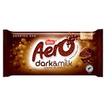 Aero Dark and Milk Chocolate 90g Sharing Bar