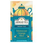 Ahmad Tea Moroccan Orange Slice 15 loose Leaf Pyramids per pack