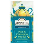 Ahmad Tea Pear and Cinnamon Strudel 15 loose Leaf Pyramids per pack