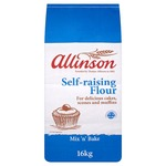 Allinson Mix n Bake Self Raising Flour 16kg