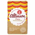 Allinson Wholemeal Plain Flour 1kg