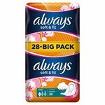 Always Soft and Fit Sanitary Towel Normal with Wings 28 per pack