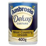 Ambrosia Deluxe Custard West Country Cream 400g Can