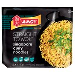 Amoy Straight To Wok Singapore Noodles 2 x 150g