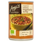 Amys Kitchen Organic Low Fat Lentil Vegetable Soup 400g