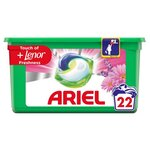 Ariel All In 1 Laundry Capsules and Lenor Freshness 22 Washes