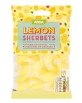 Asda Lemon Sherbets Boiled Sweets 250g