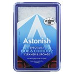 Astonish Hob and Cooktop Cleaner and Sponge