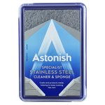 Astonish Stainless Steel Cleaner and Sponge